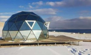 Geodesic Glass Domes